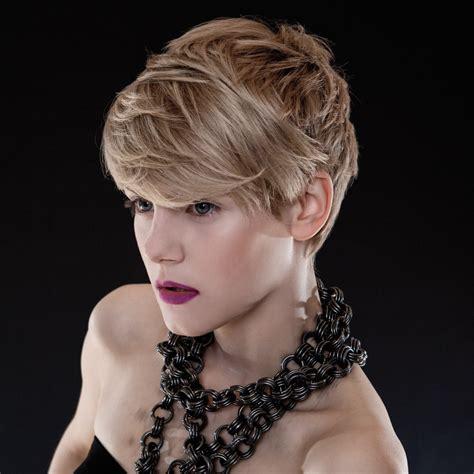 modern hairstyles  short blond hair  scandinavia
