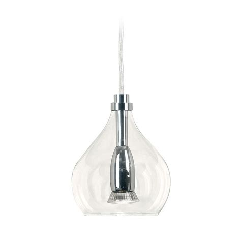 clear glass pendant lights for kitchen island clear glass