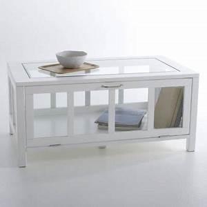 Vitrine En Verre Pas Cher : table basse vitrine verre le bois chez vous ~ Teatrodelosmanantiales.com Idées de Décoration