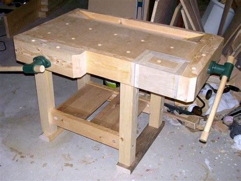 plan workbench woodworking bench     master