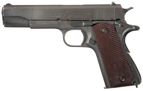 Excellent Us Wwii Colt Model 1911a1 Semi Automatic Pistol