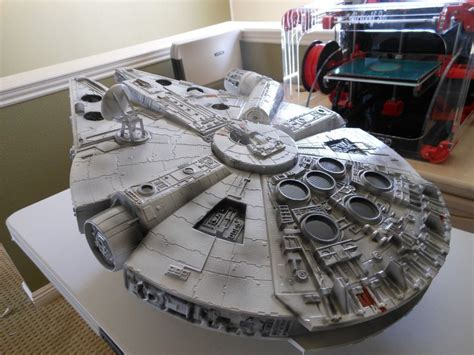 millennium falcon  model  printable stl sldprt