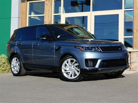 2019 Land Rover Hse by New 2019 Land Rover Range Rover Sport Hse Sport Utility