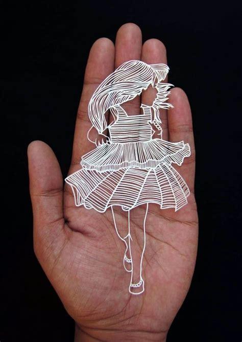 extremely creative examples  kirigami art  hobby