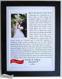 Personalized Holiday Gift Wedding and Words printed