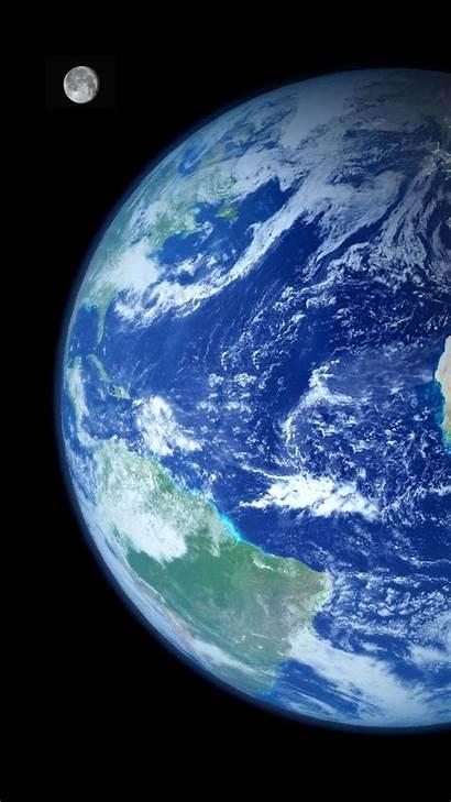 Earth Iphone Wallpapers Moon Backgrounds Pixelstalk 3d