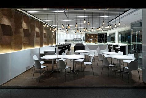 trendy  fashionable restaurant interiorzine