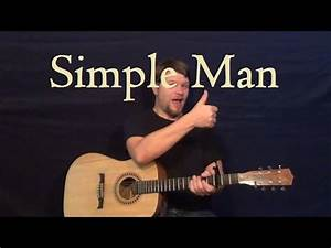 Simple Man (Lynyrd Skynyrd) Easy Strum Guitar Lesson for ...