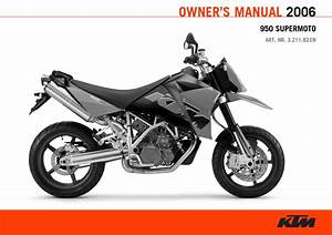 Ktm Supermoto 950 2006 Owner U2019s Manual