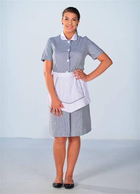 femme de chambre blouse femme de chambre à manches courtes grise carlton