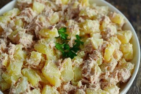 recette de cuisine midi en salade pommes de terre thon marciatack fr