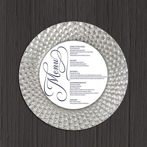 pin  major  wedding ideas wedding menu template