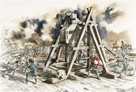 siege engines the siege in history