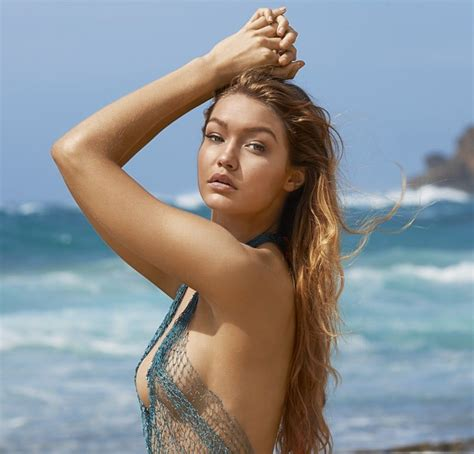 Gigi Hadid S Boobs Are Delicious In Sports Illustrated