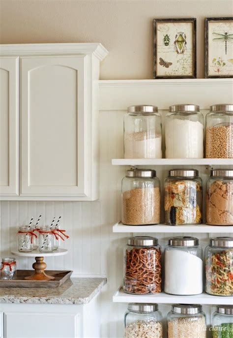 Country Kitchen Glass Jars by 25 Best Ideas About Kitchen Jars On Pantry
