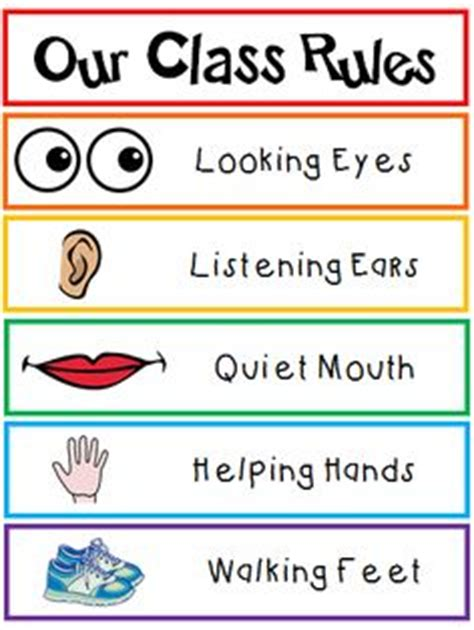 classroom rules template 1000 ideas about classroom rules on pinterest classroom