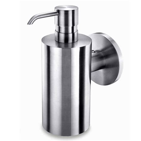 small bathroom vanity with zack mobilo wall mounted soap dispenser stainless steel