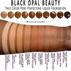 Makeup Color Chart Gimme That Glow Iman Cosmetics Helps