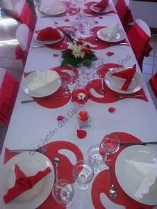 Décoration Mariage Rouge Et Blanc : decoration salle mariage rouge et blanc boutique au cam lia ~ Melissatoandfro.com Idées de Décoration