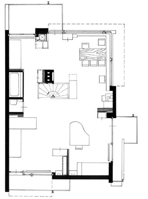Rietveld Schröder Haus Grundriss