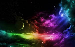 sky, Rainbow Dash, space, colors :: Wallpapers
