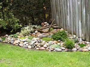 Gartengestaltung Mit Natursteinen : 53 erstaunliche bilder von gartengestaltung mit steinen ~ Markanthonyermac.com Haus und Dekorationen