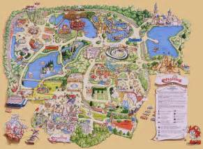 Efteling Theme Park Map