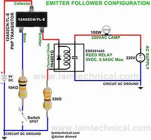 Emitter Follower Configuration Pnp Transistor 12a02ch