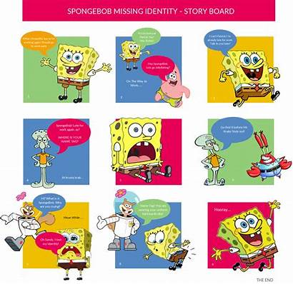 Storyboard Examples Spongebob Identity Squarepants Template Missing