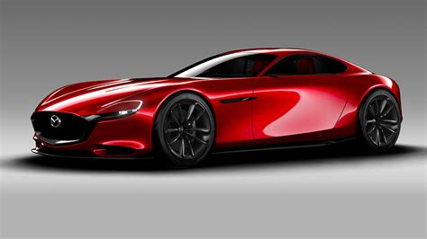 Mazda Car : Mazda Rx-9 Previewed With Rx-vision Rotary Concept At