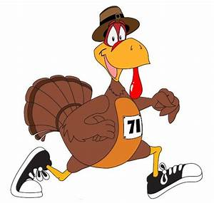 Thanksgiving Day Turkey Trot - Cliparts.co