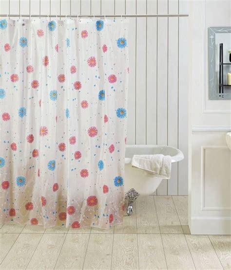 tjar floral shower curtain pink blue buy tjar floral
