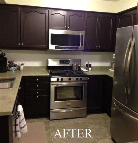 Rustoleum Cabinet Transformations Colors Before And After by Cabinet Transformations Submitted By Evan H