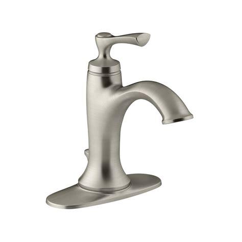 kohler elliston faucet kohler elliston single single handle bathroom faucet