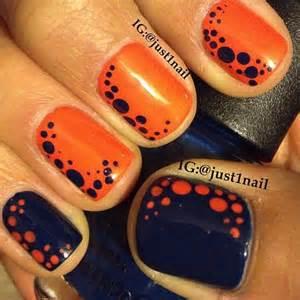 Best ideas about orange nail art on pedicure designs toenails and cute toenail