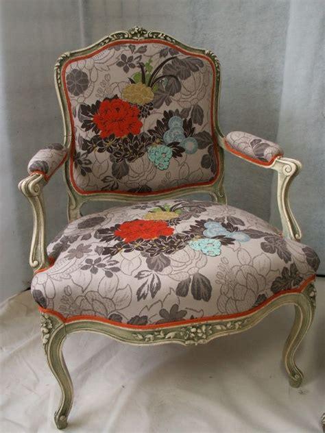 tissus kenzo pour r 233 novation fauteuil voltaire fauteuils louis xvi