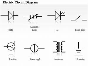 0814 electric circuit diagrams diode led transistor With dc circuit symbols