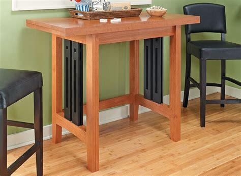 folding table woodworking project woodsmith plans