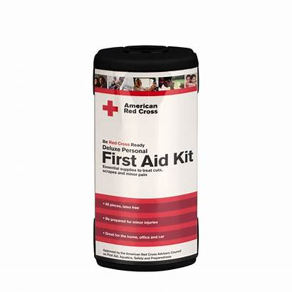 Aid Kit Personal Deluxe Supplies Redcross Cross