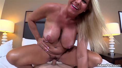 Huge Boobs Blonde Milf Fucks Young Cock Pov Free Porn