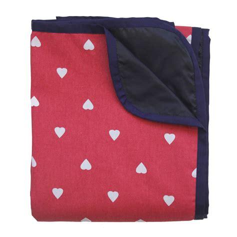 Spotty Heart Waterproof Picnic Blanket By Just A Joy