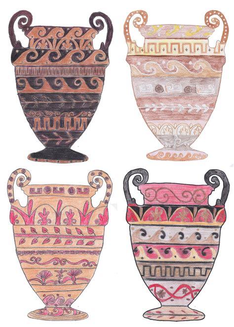 decorazioni vasi disegni di vasi