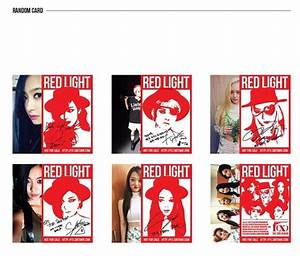 Buy f(x)'s 3rd album 'Red Light' - Wonderful Generation