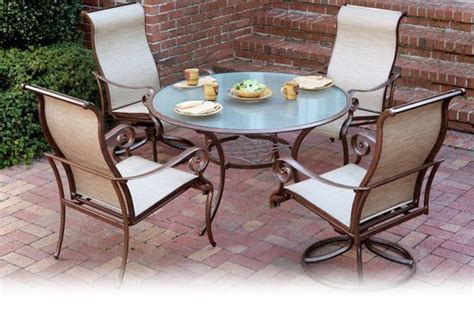 Agio Patio Furniture by Agio Burgundy Sling Patio Furniture Patio Furniture