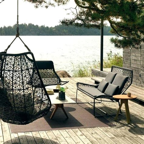 Grey Kitchen Ideas - hanging swing chair black color homes cozy hanging swing chair outdoor