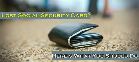A thief can use it to do anything you could do with it, including. Lost Your Social Security Card? Here's What You Should Do - WorthvieW