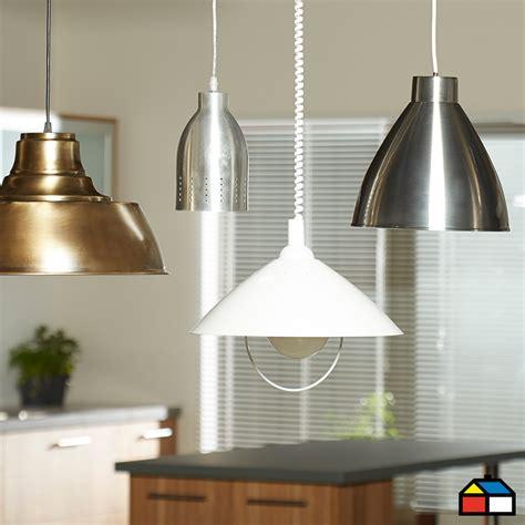 ilumina tu cocina sodimac lamparas deco pinterest