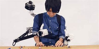 Arms Robotic Head Human Let Prototype Vision