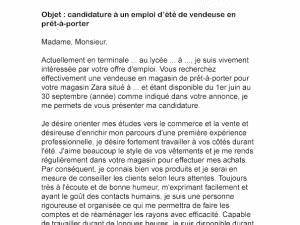 Lettre De Motivation Magasin : lettre de motivation job d t vendeuse par lettreutile ~ Dailycaller-alerts.com Idées de Décoration