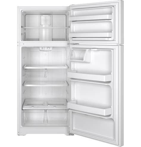 ge  cu ft top freezer refrigerator gtsgthww  appliances